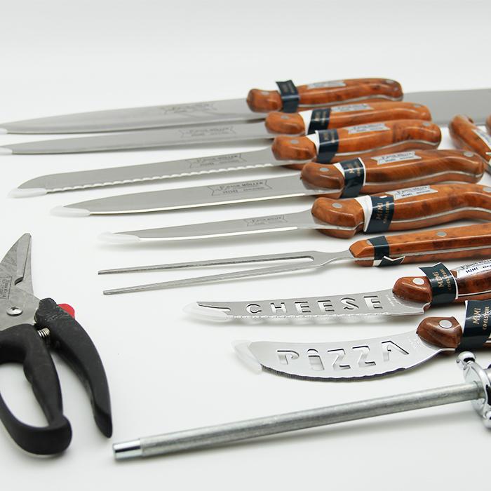 набор ножей в кейсе 25 предметов Frank Moller FM-308