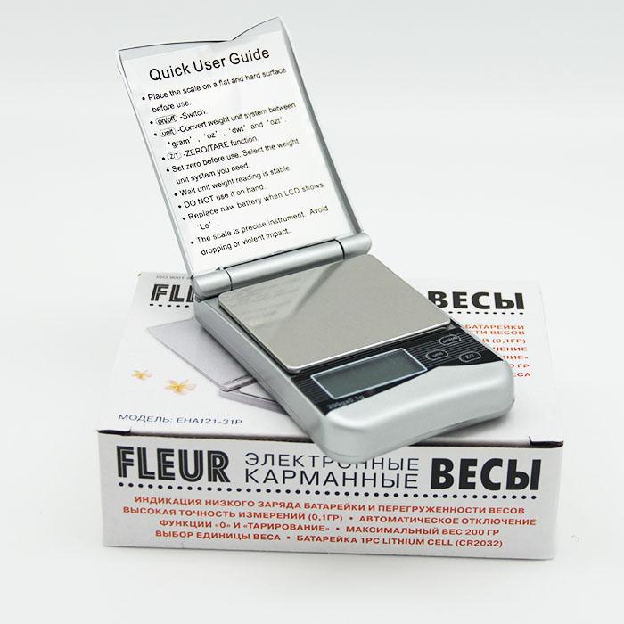 Весы электронные карманные Fleur EHA121-31P