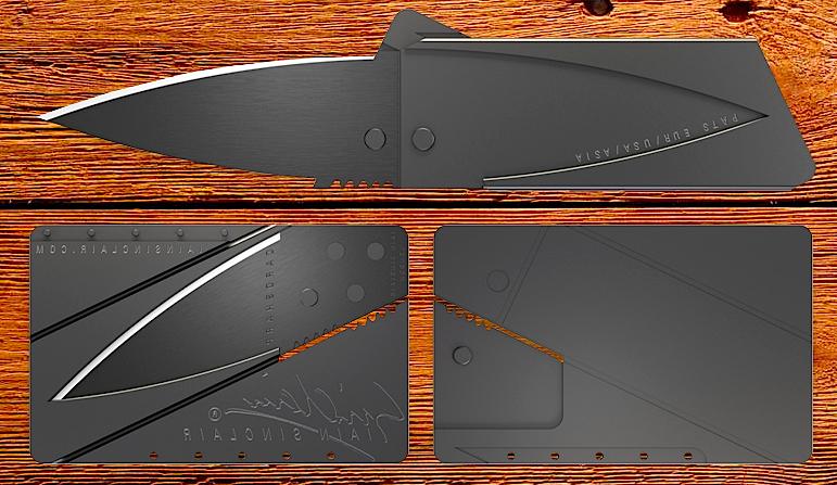 Как сделать нож из кредитки