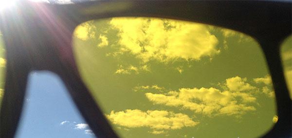 Очки солнечные розовые стекла