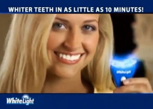 Отбеливающая пленка на зубы